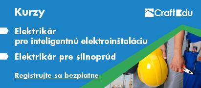Pozvánka nakurz elektrikár pre inteligentnú elektroinštaláciu aelektrikár pre silnoprúd