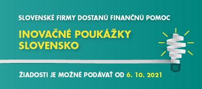 Slovenské firmy dostanú finančnú pomoc nainovácie Výzva bude otvorená 6.10.2021