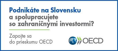 Podnikáte naSlovensku aspolupracujete so zahraničnými investormi? Zapojte sa do prieskumu OECD